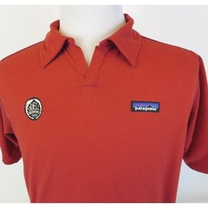 Patagonia Odell Brewing Medium Polo Shirt Red S/S